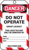 - Group Lockout Job Tags