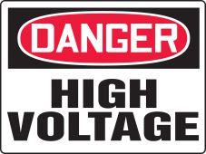 - Really BIGSigns™ OSHA Danger Safety Sign: High Voltage