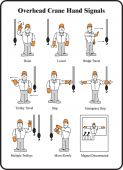 - Safety Sign: Overhead Crane Hand Signals