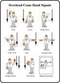 - Safety Label: Overhead Crane Hand Signals