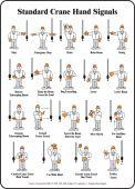 - Safety Sign - Standard Crane Hand Signals