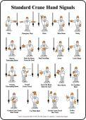 - Safety Label: Standard Crane Hand Signals