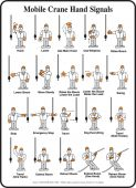 - Safety Sign - Mobile Crane Hand Signals
