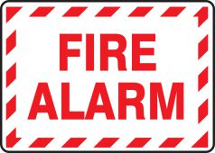 - Safety Sign: Fire Alarm