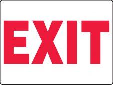 - BIG Safety Sign