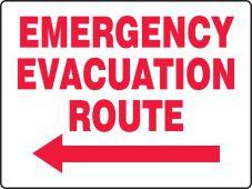 evacuation - BIGSigns™