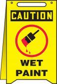 - OSHA Caution Fold-Ups®: Wet Paint