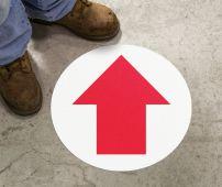 - Slip-Gard™ Floor Sign: Arrow