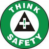 - Slip-Gard™ Floor Sign: Think Safety