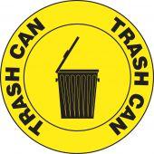 - Slip-Gard™ Floor Signs: Trash Can