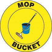 - Slip-Gard™ Floor Signs: Mop Bucket