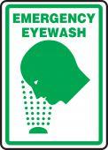 - Safety Sign: Emergency Eyewash (Graphic)