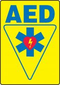 - Safety Sign: AED