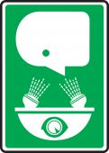 - Safety Sign: Eye Wash Pictogram