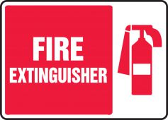 - Safety Sign: Fire Extinguisher (Graphic)