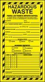 - Safety Label: Hazardous Waste