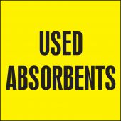 - Drum & Container Labels: Used Absorbents