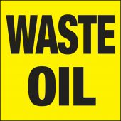 - Drum & Container Labels: Waste Oil