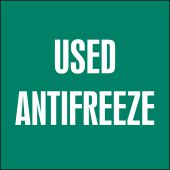 - Drum & Container Labels: Used Antifreeze