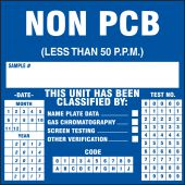 - PCB Label: Non PCB (Less Than 50 P.P.M.)