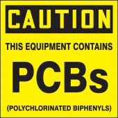 - OSHA Caution PCB Label: This Equipment Contains PCBs