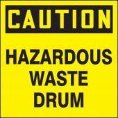 - OSHA Caution Drum & Container Labels: Hazardous Waste Drum