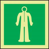 evacuation - IMO Evacuation & First Aid Sign: Immersion Suit