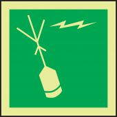 evacuation - IMO Evacuation & First Aid Sign: Emergency Position-Indicating Radio Beacon