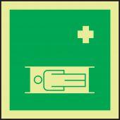 evacuation - IMO Evacuation & First Aid Sign: Stretcher