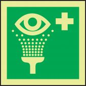 - IMO Evacuation & First Aid Sign: Eye Wash