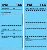 - TPM Blue Tags