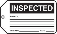 - Safety Tag: Inspected