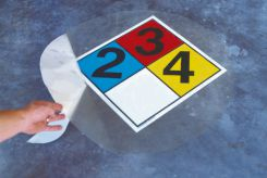 - NFPA Placard Floor Kits