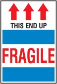 - International Shipping Labels: This End Up - Fragile