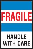 - International Shipping Labels: Fragile - Handle With Care