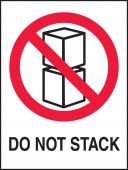 - International Shipping Label: Do Not Stack