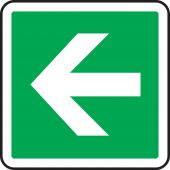 - CSA Pictogram Sign: Arrow (Green with Graphic)