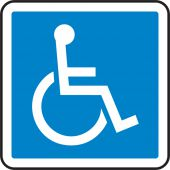 - CSA Pictogram Sign: Handicapped (Graphic)