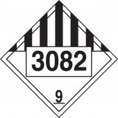 - Chemical Safety Sign: Hazard Class 9