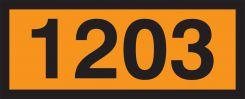 - Orange 4-Digit Panel: 1203 (Gasoline)