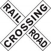 - Rail Sign: Railroad Crossing