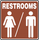 - RESTROOM SIGNS
