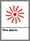 - ANSI SIGN - FIRE ALARM
