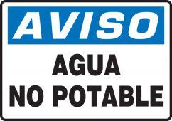 - Spanish Bilingual Safety Sign