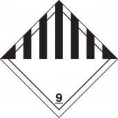 - DOT Shipping Labels: Hazard Class 9: Miscellaneous Dangerous Goods