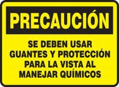- PRECAUCION SE DEBEN ...SPANISH