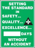 - Write-A-Day Scoreboards: Setting The Standard In Safety Quality Excellence - _ Days Without An Accident
