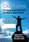 - WorkHealthy™ Write-A-Day Scoreboards: Our Goal - To Help You Feel And Perform Your Best