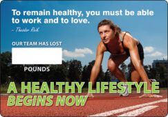 - WorkHealthy™ Write-A-Day Scoreboards: A Healthy Lifestyle Begins Now