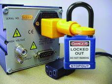 - Power Cord Plug Lockout